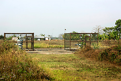 BANGLADESH HABIGANJ BIBIYANI 23FEB05 - The two BOPs (pressure valves), also called 'Christmas Trees' atop holes 1 and 2 at Bibiyana Gas Field in northern Bangladesh. The holes were drilled in the late 1990s by Occidental but have so far not gone on stream. In autumn 2005, Unocal is planning to drill four more holes in Bibiyana and set up a gas-powered powerplant...jre/Photo by Jiri Rezac ..© Jiri Rezac 2005..Contact: +44 (0) 7050 110 417.Mobile:  +44 (0) 7801 337 683.Office:  +44 (0) 20 8968 9635..Email:   jiri@jirirezac.com.Web:    www.jirirezac.com..© All images Jiri Rezac 2005- All rights reserved.
