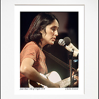 Joan Baez - An affordable archival quality matted print ready for framing at home.<br />