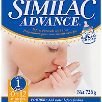 Similac Advance Packaging