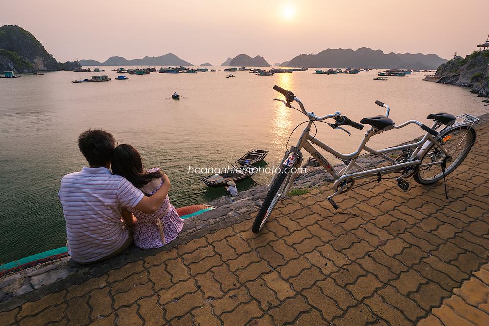 Vietnam Images-Seascape-Cát Bà Island-Hai Phong hoàng thế nhiệm