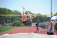 Oxford High's Sally Rychlak wins the pole vault during the MHSAA Region 1-5A Track Meet at Oxford High School in Oxford, Miss. on Monday, April 29, 2013.