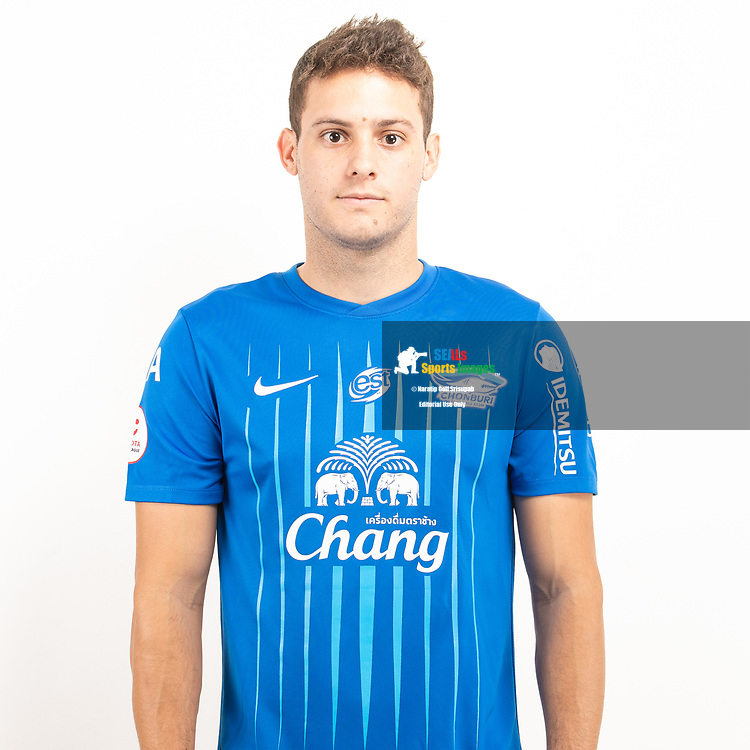 THAILAND - JUNE 11: Patrick Cruz #46 of Chon Buri FC on June 11, 2019.<br /> .<br /> .<br /> .<br /> (Photo by: Naratip Golf Srisupab/SEALs Sports Images/MB Media Solutions)