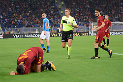 October 14, 2017 - Rome, Italy - Gianluca Rocchi during the Italian Serie A football match between A.S. Roma and S.S.C. Napoli at the Olympic Stadium in Rome, on october 14, 2017. (Credit Image: © Silvia Lor/Pacific Press via ZUMA Wire)