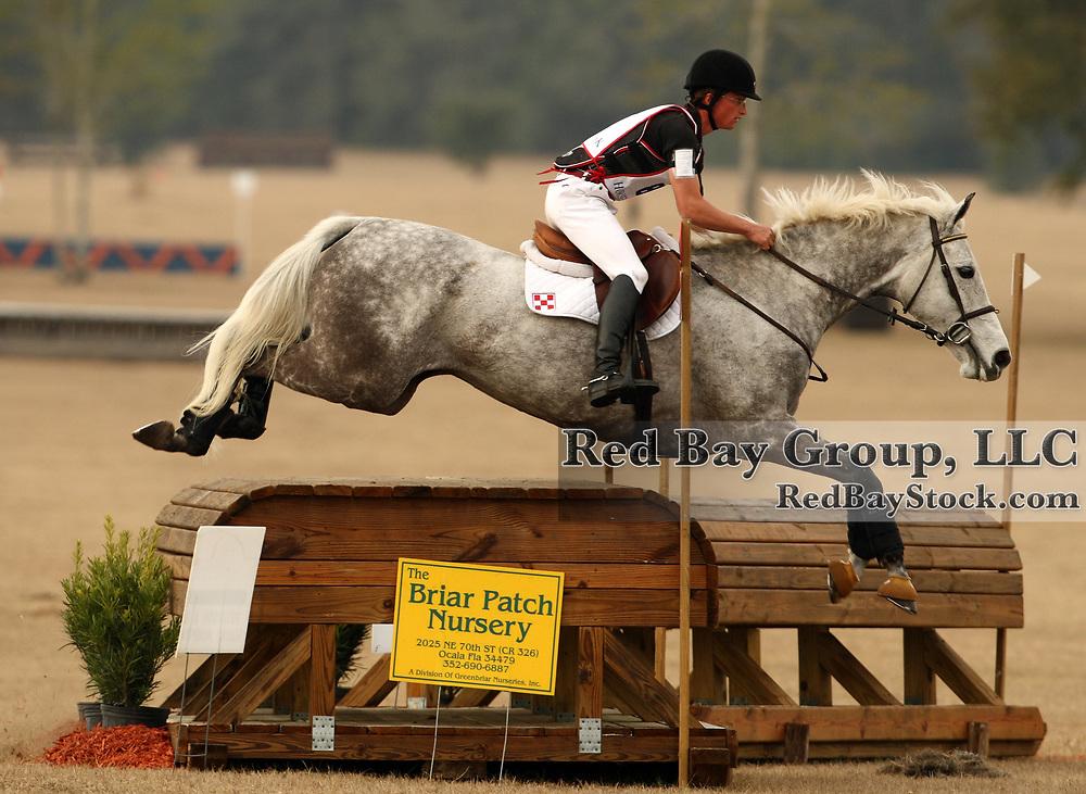 Waylon Roberts and Gigi at the Ocala Winter II Horse Trials in Ocala, Florida.