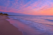 Lake Huron at sunset<br />Grand Bend<br />Ontario<br />Canada