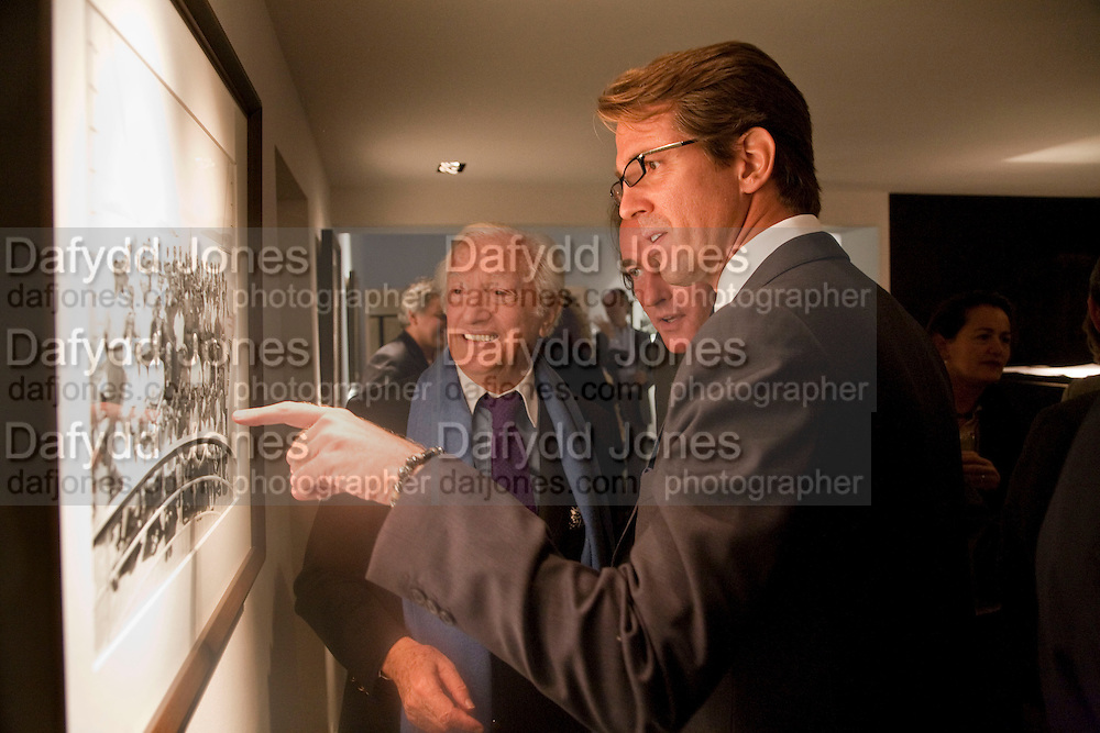 Benno Graziani: Tim Jefferies; Prince Pavlos of Greece, Benno Graziani: Memories Of Summer, Hamiltons Gallery. London. 16 September 2009.