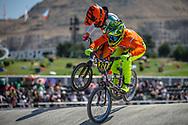 17-24 Men #287 (BLOM Roberto) NED at the 2018 UCI BMX World Championships in Baku, Azerbaijan.