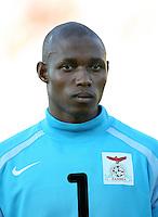 Fussball International U 20 WM  Sambia 1-2 Spanien Torwart Jacob Banda (ZAM)