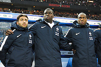 Nabil Fekir / Kurt Zouma / Geoffrey Kondogbia  - 26.03.2015 - France / Bresil - Match Amical<br />