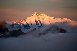 THEMENBILD - Sonnenaufgang am Grossglockner (3798m), aufgenommen am 7. Oktober 2014 // Sunrise at Grossglockner summit, Pictured on October 7, 2014. EXPA Pictures © 2014, PhotoCredit: EXPA/ Johann Groder