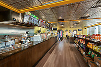 Interior image of Greens 2 Office Building Cafe in Chantilly Virginia by Jeffrey Sauers of Commercial Photographics, Architectural Photo and Video Artistry