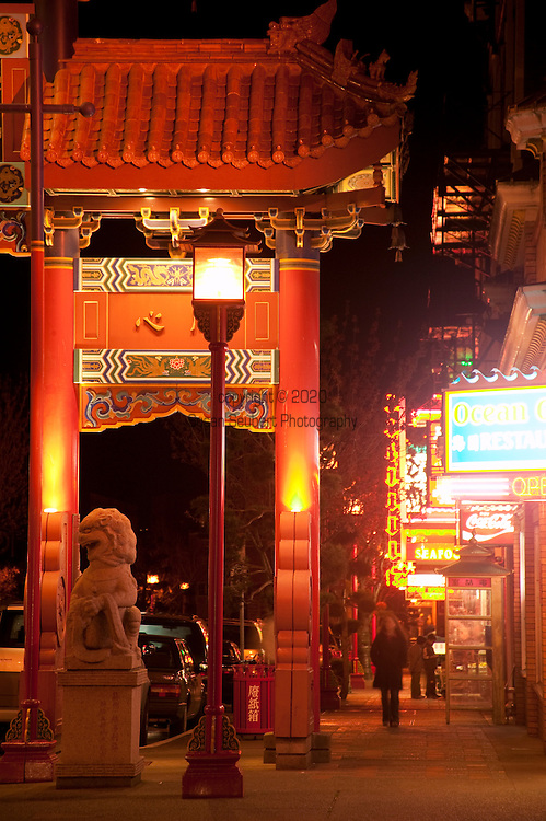 Chinatown in Victoria, B.C. has coffee shops and lots of small, independent stores