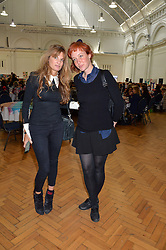 Left to right, JEMIMA KHAN and KATE ROTHSCHILD at a lunch in aid of the charity African Solutions to African Problems (ASAP) held at the Royal Horticultural Hall, Vincent Square, London on 19th May 2016.