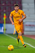 Declan Gallagher (#31) of Livingston FC during the 4th round of the William Hill Scottish Cup match between Heart of Midlothian and Livingston at Tynecastle Stadium, Edinburgh, Scotland on 20 January 2019.
