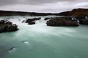 Urriðafoss waterfalls in Southern Iceland