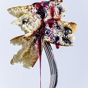 Blueberry Pancakes | Oklahoma Food Photographer