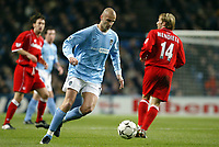Fotball, 30. november 2003, Premier League, Manchester City - Middlesbrough 0-1,  Antoine Sibierski, Manchester City<br /> ,