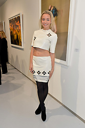 NOELLE RENO at a private view of Dancing Away featuring work by Mikhail Baryshnikov held at ContiniArtUK, 105 New Bond Street, London on 27th November 2014.