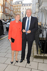 LORD & LADY HESELTINE at the Spectator Summer Party held at 22 Old Queen Street, London SW1 on 3rd July 2008.<br /><br />NON EXCLUSIVE - WORLD RIGHTS