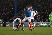 Ronan Curtis of Portsmouth in action during the EFL Sky Bet League 1 match between Portsmouth and Shrewsbury Town at Fratton Park, Portsmouth, England on 15 February 2020.