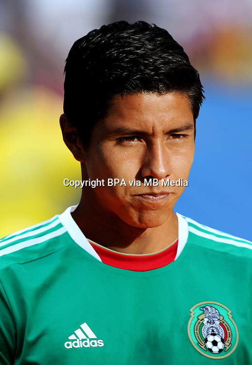 Football Fifa Brazil 2014 World Cup / <br /> Mexico National Team - <br /> Luis Angel MENDOZA  of Mexico