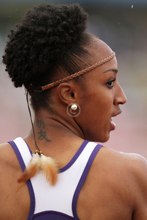 Olympic Trials Eugene 2012: womens' 100 meter hurdles, Brianna Rollins,