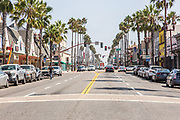 Downtown Oceanside Street Scene