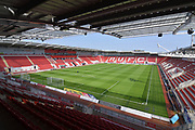 Rotherham United AESSEAL stadium before the EFL Sky Bet League 1 match between Rotherham United and Bristol Rovers at the AESSEAL New York Stadium, Rotherham, England on 21 April 2018. Picture by Ian Lyall.