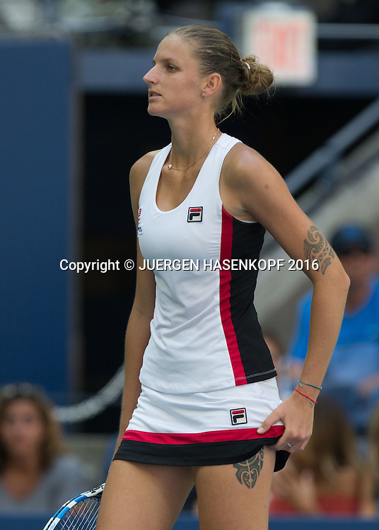 KAROLINA PLISKOVA (CZE)<br /> <br /> Tennis - US Open 2016 - Grand Slam ITF / ATP / WTA -  USTA Billie Jean King National Tennis Center - New York - New York - USA  - 7 September 2016.