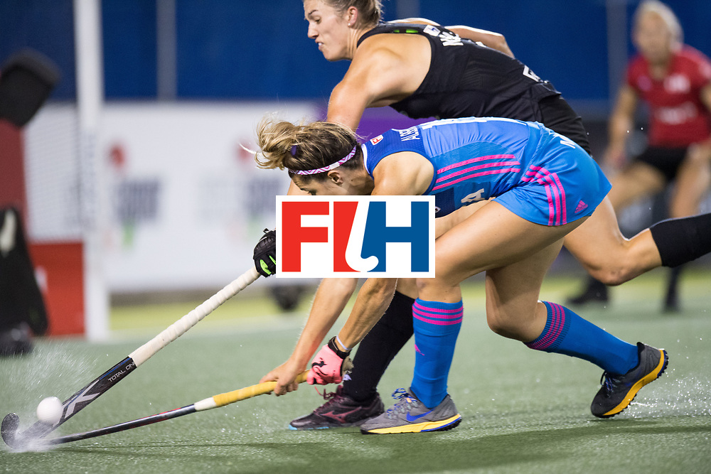 AUCKLAND - Sentinel Hockey World League final women<br /> Match id: 10304<br /> 14 ARG v NZL 1-2<br /> Foto: backhand Agustina Albertarrio<br /> WORLDSPORTPICS COPYRIGHT FRANK UIJLENBROEK