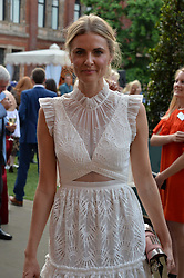 Donna Air at the V&A Summer Party 2017 held at the Victoria & Albert Museum, London England. 21 June 2017.<br /> Photo by Dominic O'Neill/SilverHub 0203 174 1069 sales@silverhubmedia.com