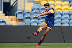 Ollie Lawrence (Bromsgrove School) of Worcester Warriors Under 18s - Mandatory by-line: Robbie Stephenson/JMP - 14/01/2018 - RUGBY - Sixways Stadium - Worcester, England - Worcester Warriors Under 18s v Yorkshire Carnegie Under 18s - Premiership Rugby U18 Academy
