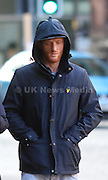 Manchester UK 18.10.2016: Paul Barnes after appearing at Manchester and Salford Magistrates court charged  with fraud by  false representation namely that between the 14.10.2014 and 25.03.2016 he submitted a compensation claim against   HMP Manchester for injuries sustained after a slip on water when in fact there was no slip and his subsequent injuries were self inflicted. He was seeking to get a financial compensation settlement<br /> <br /> Barnes is aged 32 his address is 49 Lily Lane, Moston Manchster M9 4NR <br /> <br /> He pleaded not  guilty to fraud and will no stand trial on 1 count of fraud he was released on unconditioal bail.