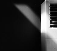 still life, air conditioner, V shape, V fine art, fine art photography, black and white, black&white, monokrom, monochrome