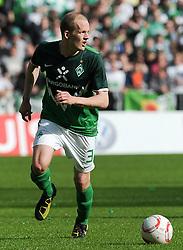 02.04.2011, Weserstadion, Bremen, GER, 1.FBL, Werder Bremen vs VfB Stuttgart, im Bild Petri Pasanen (Bremen #3)   EXPA Pictures © 2011, PhotoCredit: EXPA/ nph/  Frisch       ****** out of GER / SWE / CRO  / BEL ******