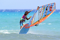 26.07.2015, Costa Calma, Fuerteventura, ESP, PWA Windsurfing Freestyle Grand Slam, im Bild Ruenes Antony F-85 // during the PWA Windsurfing Freestyle Grand Slam at the Costa Calma in Fuerteventura, Spain on 2015/07/26. EXPA Pictures © 2015, PhotoCredit: EXPA/ Eibner-Pressefoto/ Roskaritz<br /> <br /> *****ATTENTION - OUT of GER*****