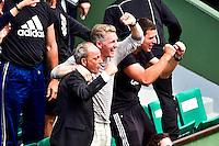 Joie Bastian SCHWEINSTEIGER compagnon d'Ana IVANOVIC - 02.06.2015 - Jour 10 -Roland Garros 2015<br /> Photo : David Winter / Icon Sport