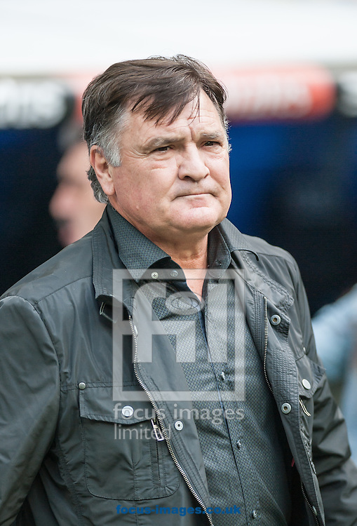 Former Real Madrid player and former Spain Team coach Jose Antonio Camacho during the friendly match at the Estadio Santiago Bernabeu, Madrid<br /> Picture by Marcos Calvo Mesa/Focus Images Ltd +34 654142934<br /> 14/06/2015