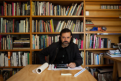 Mauricio Rocha sits in his office in Mexico City.