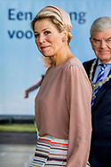 15-9-2017 UTRECHT Queen Maxima opens the congress 'The Day of Youth Professionals' on Friday 15 September at the Jaarbeurs in Utrecht. It is the first time that such a meeting is organized for professionals working in youth and youth protection. COPYRIGHT ROBIN UTRECHT<br /> <br /> <br /> 15-9-2017 UTRECHT Koningin Maxima opent vrijdagochtend 15 september in de Jaarbeurs in Utrecht het congres 'De Dag van de Jeugdprofessional'. Het is de eerste keer dat een dergelijke bijeenkomst wordt georganiseerd voor professionals die werkzaam zijn in de jeugdhulp en jeugdbescherming.COPYRIGHT ROBIN UTRECHT