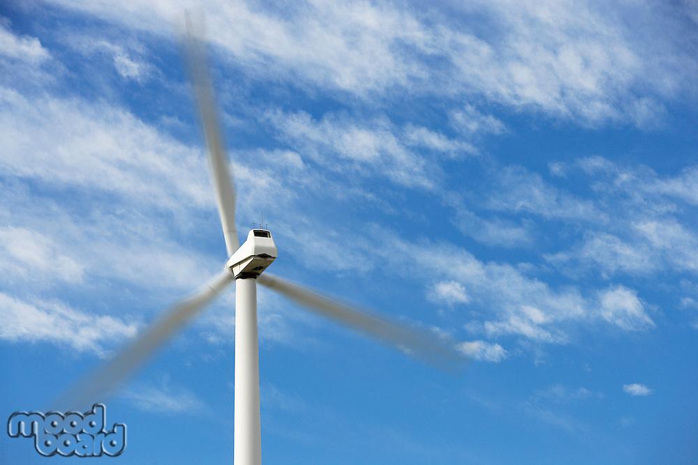 Wind turbine at wind farm