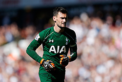 Hugo Lloris of Tottenham Hotspur - Photo mandatory by-line: Rogan Thomson/JMP - 07966 386802 - 16/05/2015 - SPORT - FOOTBALL - London, England - White Hart Lane - Tottenham Hotspur v Hull City - Barclays Premier League.