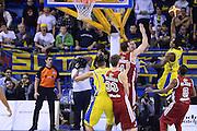 DESCRIZIONE : Porto San Giorgio Lega serie A 2013/14  Sutor Montegranaro Varese<br /> GIOCATORE : Mayo Josh<br /> CATEGORIA : tiro blocco contrcampo<br /> SQUADRA : Sutor Montegranaro<br /> EVENTO : Campionato Lega Serie A 2013-2014<br /> GARA : Sutor Montegranaro Pallacanestro Varese<br /> DATA : 23/11/2013<br /> SPORT : Pallacanestro<br /> AUTORE : Agenzia Ciamillo-Castoria/M.Greco<br /> Galleria : Lega Seria A 2013-2014<br /> Fotonotizia : Porto San Giorgio  Lega serie A 2013/14 Sutor Montegranaro Varese<br /> Predefinita :