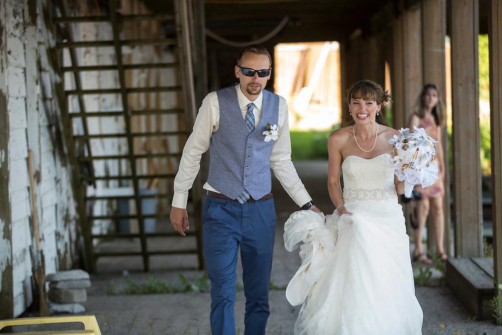 Chatham, Ontario ---2016-07-22--- Justin and Chantal's Wedding<br /> GEOFF ROBINS