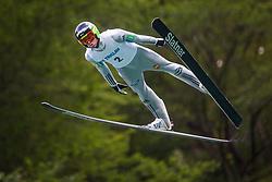 Tomaz Naglic during Ski Jumping Continental Cup, on July 7th, Kranj, Slovenia. Photo by Ziga Zupan / Sportida