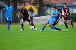 Football match between NK Triglav Kranj and ND Gorica, 7th Round of Prva Liga, on 26 August, 2012, in Sportni center, Kranj, Slovenia. (Photo by Grega Valancic / Sportida)