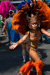 California: San Francisco Carnaval festival parade in the Mission District. Photo copyright Lee Foster. Photo # 30-casanf81155