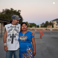 Nelly Boyette was an undocumented immigrant from Peru when she met her future husband, Jeff. He was a day laborer at the local flea market that carried a radio with a sticker telling immigrants to speak English. The unlikely couple fell in love and got married. They were happy until immigration officials threatened deportation on the grounds of marriage fraud. It was then that the flea market community came to their rescue.