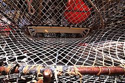 USA ALASKA 29JUN12 - Crab traps on the quayside in Kodiak, Alaska.....Photo by Jiri Rezac / Greenpeace