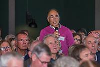 UTRECHT -  Flip Rothbarth ,van de Voorschotense GC,  tijdens de NGF ALV    Algemene Ledenvergadering van de Nederlandse Golf Federatie NGF.   COPYRIGHT KOEN SUYK